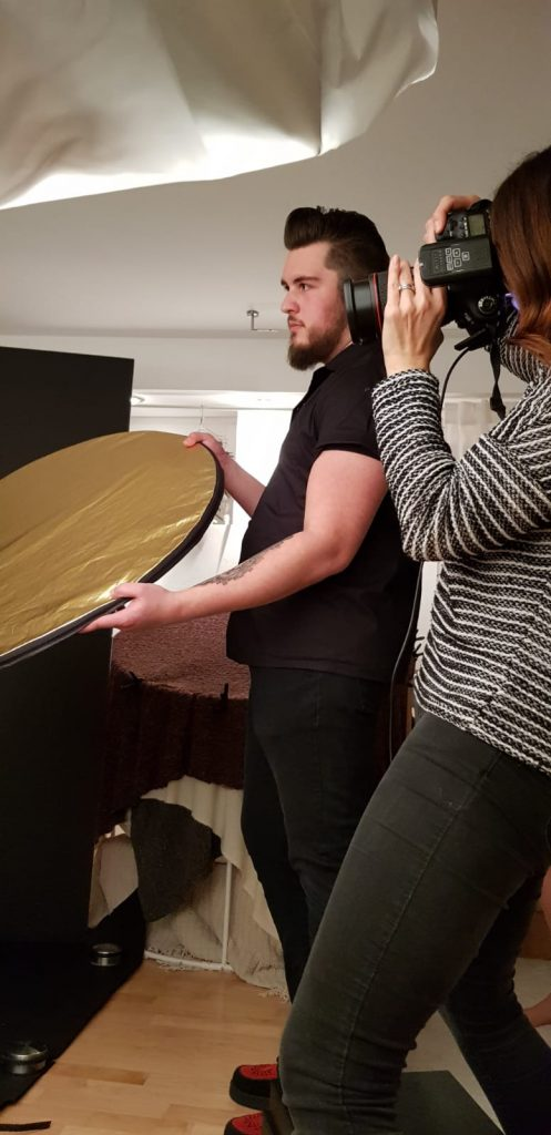 Fotoshooting - behind the scenes  - 18.01.2020